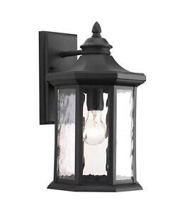 Progress Lighting P6072-31 Edition 1-Light Black Outdoor Wall Lantern Sconce