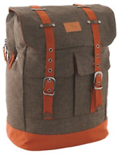 Fab Easy Camp Indianapolis Back Pack in Coffee RRP £40.99