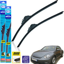 "VW Beetle 2011-on front wiper blades alca SUPER FLAT 22"" 22"" ST"