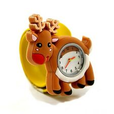 NUOVO jinglebell gioielli pop watch-RENNA KID'S WATCH-GRATIS UK consegna!