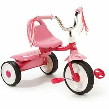 Ready to Ride Folding Trike, Assembled, Red, Push & Pedal Ride-Ons, Tricycles