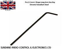 RC Pro 1.5 mm L Shape Long Arm Hex Key 1.5mm Allen Key Chrome Vanadium Steel UK