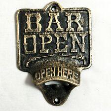 Bar Open Wall Mount Painted Bottle Opener CI31-A-BO