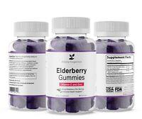 Elderberry Gummies - Vitamin C - Zinc - Immune Support - 75mg per serving