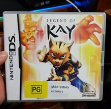 Legend of Kay -  (Nintendo DS/3DS) NDS - FREE POST *