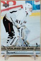 David McKee Young Guns 2006-07 Upper Deck YG Rookie RC Anaheim Ducks