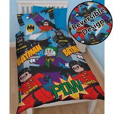 Légo Super-Héros DC BATMAN dynamique Set Housse de couette simple - Officiel