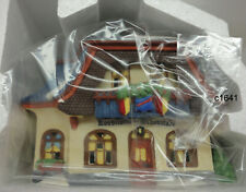 Dept 56 Alpine Village Bakery And Chocolate Shop new in box