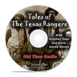 Tales of the Texas Rangers, 205 Episodes Old Time Radio Westerns OTR DVD MP3 F90
