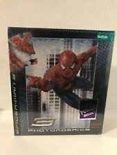 Sealed Spiderman 3 Spidey Puzzle Photomosaics 300 Pc Bonus Movie Poster Included