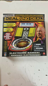NEW Deal Or No Deal Irwin Toy 2009 Deluxe Edition Electronic Banker Game