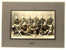 1923 ST. STEPHEN THISTLES New Brunswick Canada Hockey team cabinet photo