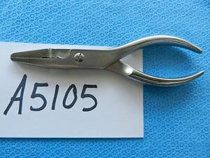 Zimmer Surgical Orthopedic Flat Nose Pliers  3180