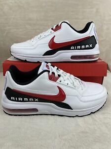 Nike Air Max LTD 3 (Mens Size 12) Shoes BV1171 100 White University Red Black