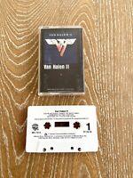 Van Halen II Cassette Audio tape 1979 Warner Bros.
