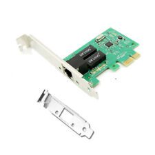 PCI-E 16X GIGABIT 10/100/1000MB ethernet LAN MAPPA RETE PCI-EXPRESS RJ45 PC