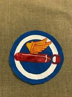 WWII US Army Air Force Bomb Squadron patch