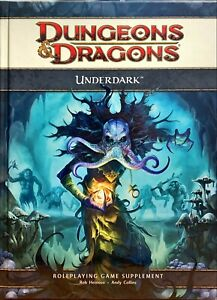 Dungeons & Dragons - UnderDark [ 4th Edition ] Roleplaying Game Book