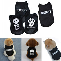 Summer Pet Puppy Small Dogs Cat Clothes Dress Vest T Shirt Apparel Cloth 2018