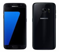 "SAMSUNG GALAXY S7 G930F 4gb 32gb Negro 5.1"" 12mp Camera Android Lte Smartphone"