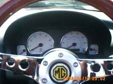 MG MGF MGTF MG TF  ALLOY INSTRUMENT DIAL SURROUNDS X4 !