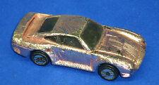 1987 Hot Wheels Diecast 1:64 Scale Porsche 959 Paneled Metallic Pink Model A062
