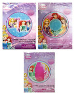 Disney Princess Swim Ring Tube + Arm Floaties + Pool Beach Ball -SET OF 3 FLOATS