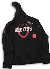 88863cafed3 Cleveland Browns Nike Breast Cancer Awareness Medium Hooded Sweatshirt