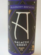 Craft BEER Can ~ ALLEGORY Brewing Co Galactic Ghost IPA ~ McMinnville, OREGON