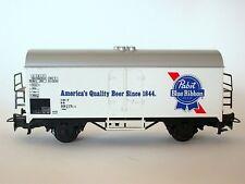 Märklin 4569 Pabst Blue Ribbon Beer Bierwagen Kühlwagen DB LüP 115mm H0 1:87