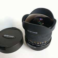 Samyang 8mm f3.5 CS Fisheye für Sony Alpha A-Mount