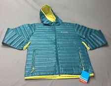 Columbia Flash Forward Down Heat Seal Jacket (L, Turquoise)(NWT) MSRP $140