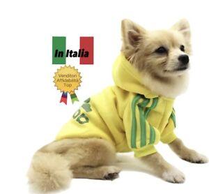 Felpa Con Cappuccio Cane Calda T-Shirt Maglia Adidog Pet Clothes No Virus ✅ ✅