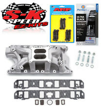 Edelbrock 7581 Ford 351W Performer RPM Intake Manifold with Bolts/Gaskets/RTV