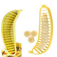 Banana Slicer Cut Chop Cutter Kitchen Tool Fruit Salad Desert Sundaes Cereal DIY