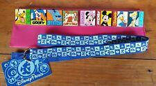 Disney Parks 8 Collectible Trading Pins & Lanyard Set - 2012