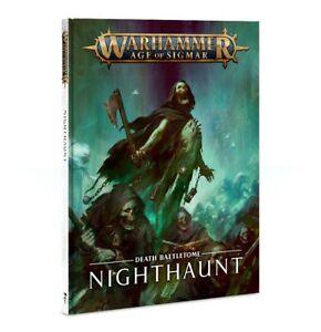 Battletome: Nighthaunt - Warhammer Age of Sigmar - Brand New! Latest Version