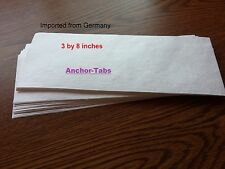 6 SHEETS--RECOVERY REPAIR PAPER MATERIAL for CUCKOO CLOCK BELLOWS TOPS w/ INST.