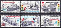 Tschechoslowakei 1989  Mi. 2994-99 -  Rundgestempelt