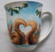 Squirrel Love - großer Kaffeebecher - Fine Bone China Porzellan - Ambiente