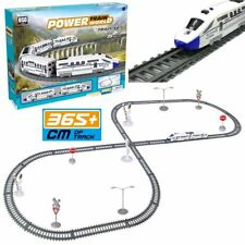 Rexco 35 Pc Battery Operated Toy Bullet Train Track Railway Carriage Play Set