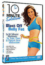 10 Minute Solution - Blast Off Belly Fat - Exercise & Fitness DVD - Free P&P