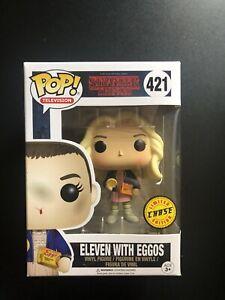 Eleven With Eggos Chase Variant Stranger Things 421 Funko Pop Vinyl