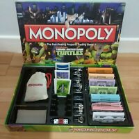 Monopoly Turtles Board Game Teenage Mutant Ninja Hasbro Orginal Top Brand