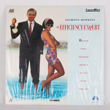 RARE Laserdisc Efficiency Expert starring Anthony Hopkins, EX