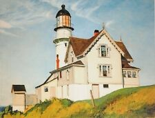 Edward Hopper Kunstdruck Poster Art Print 48x50cm Captain Upton's House 1927