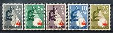 Nederland  661 - 665 gebruikt met druktoevalligheid