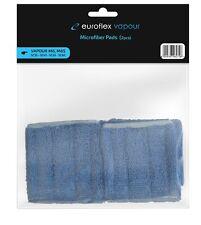 Microfibre Floor Brush Pad for Euroflex Vapour M6 / M6S Steam Cleaner - 2 Pack