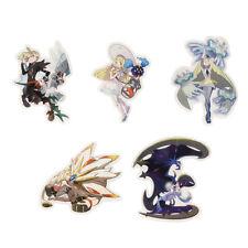 [Japan Pokemon Center Limited] Sticker 5 piese set Lillie Gladion Lusamine A