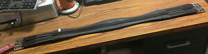 "New Shires Blenheim English Girth Hunt Cinch Elastic On Both Ends 40"" Horse Tack"